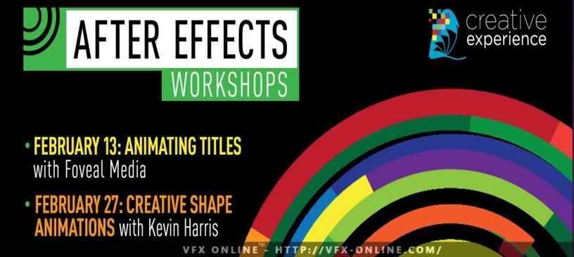 Animating Titles in After Effects Workshop – VFX ONLINE