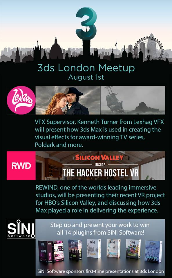 3DS Max London Meetup 2018 – VFX ONLINE