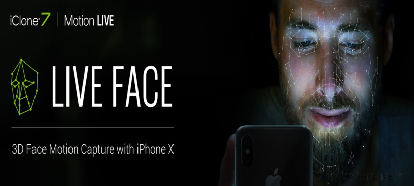 iPhone X 3D Facial Mocap is Available Now for Professional