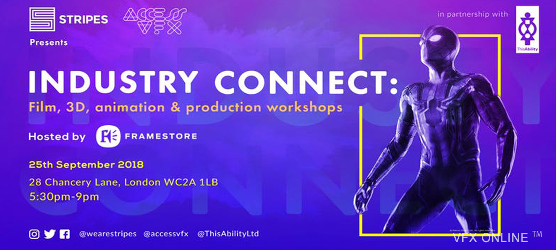Access VFX: VFX Industry Connect Interactive Workshops 2018 | VFX ONLINE