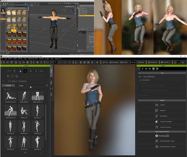 Reallusion Partners with Renderosity – VFX ONLINE